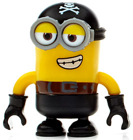 Mega Bloks Minions Pirate Carl Minifigure