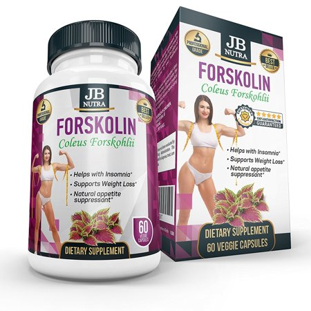 Forskolin For Weight Loss - Best Supplements for Women and Men Diet by JB