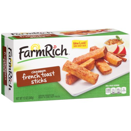 Farm rich cinnamon french toast sticks 12 oz box walmart farm rich cinnamon french toast sticks 12 oz box solutioingenieria Choice Image