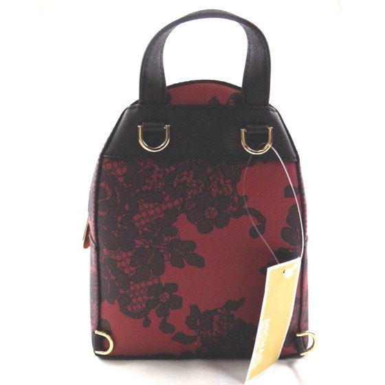 99425c662448 NEW WOMENS MICHAEL KORS ABBEY X SMALL CHERRY BLACK ROSE BACKPACK BOOK BAG  PURSEMichael Kors191935003959All Handbags come BRAND NEW with Original Tags!