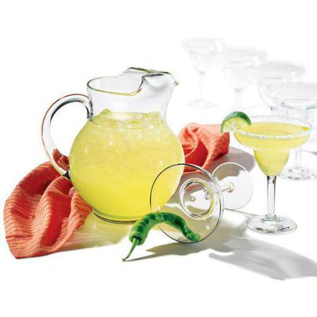 Libbey 7-Piece Cancun Margarita Pitcher and Glassware - Margarita Shots