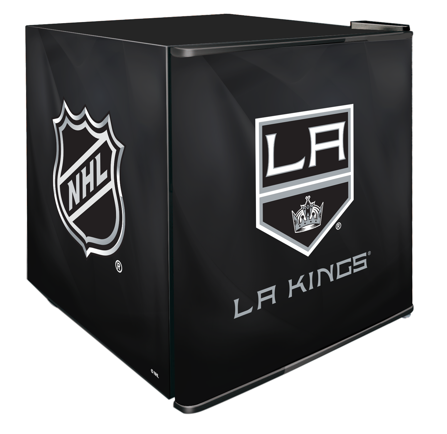 NHL Solid Door Refrigerated Beverage Center 1.8 cu ft - LA Kings