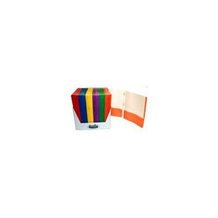 2 Pocket Paper Portfolios with Prongs (100 Units