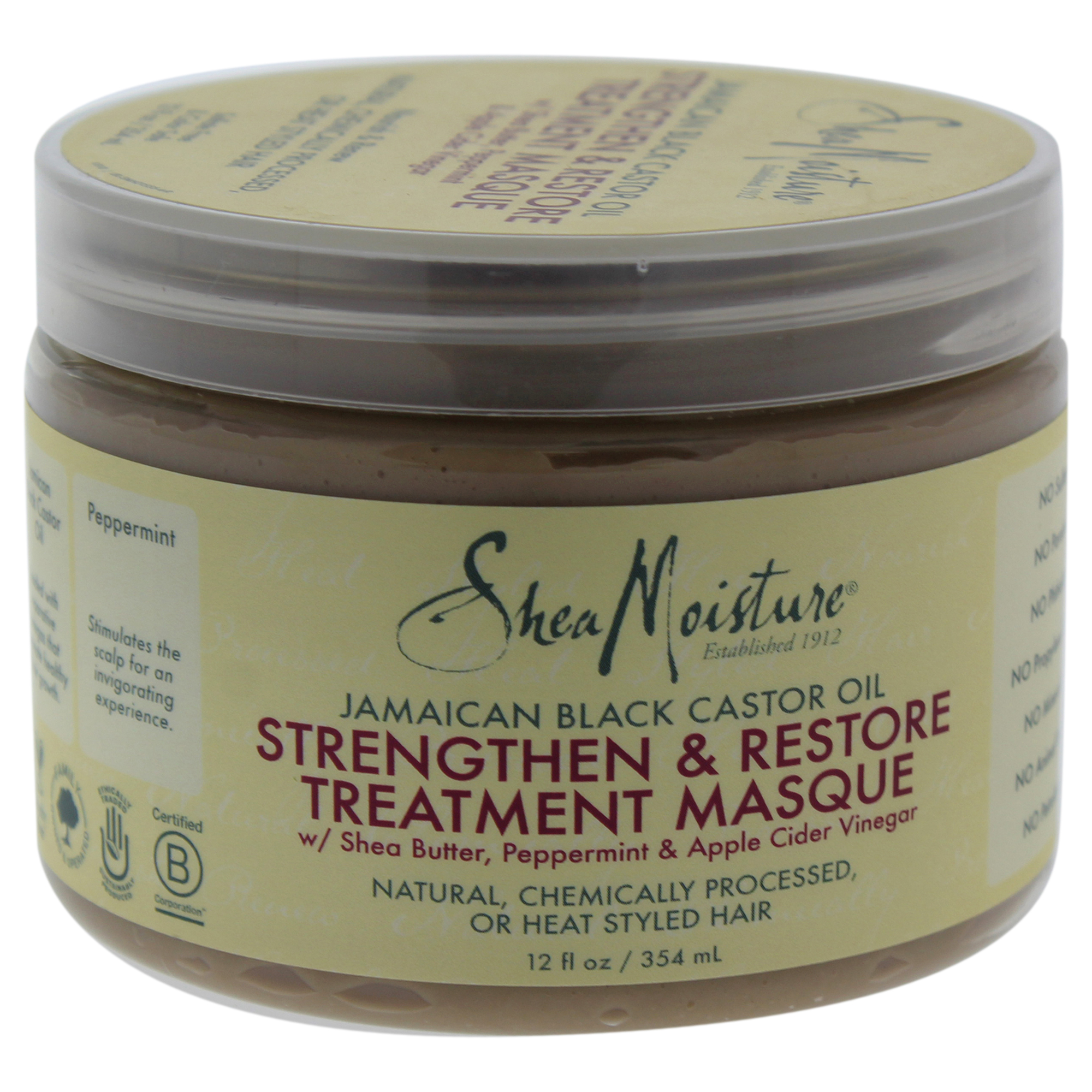 Jamaican Black Castor Oil Strengthen-Grow & Restore Treatment Masque