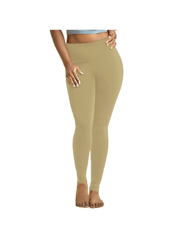 Sofra Women's Plus Sized Full Length Leggings