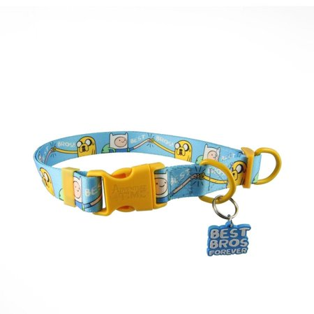 Adventure Time Best Bros! Adjustable Nylon Dog (Best Dog Collars For Labs)