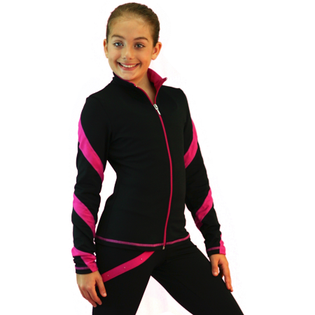 ChloeNoel J36 Spiral Skate - Grease Pink Ladies Jacket Kids