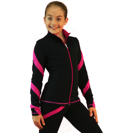 ChloeNoel J36 Spiral Skate - Grease Pink Ladies Jacket For Kids