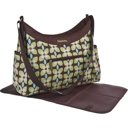 Gerber- Hobo Diaper Bag, Sage