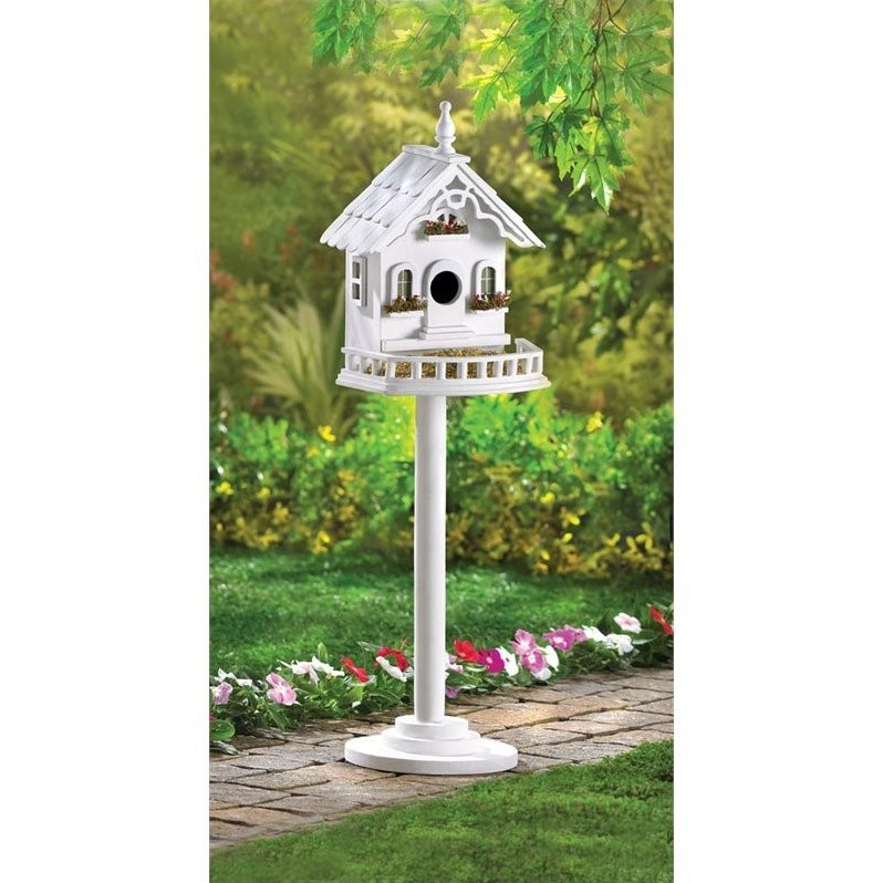 Zingz and Thingz Freestanding Victorian Birdhouse by Zingz & Thingz