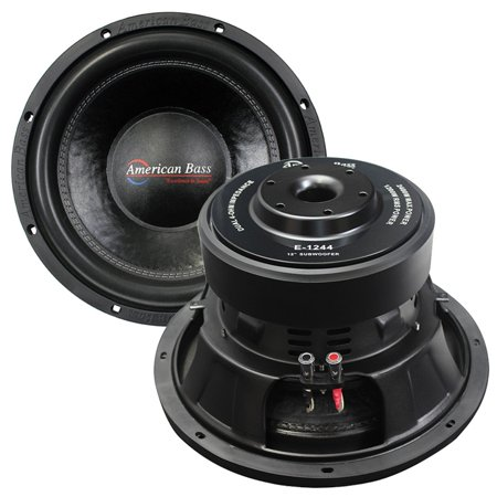 Black American Bass Elite Series 12 Inch Woofer 1200 Rms 2400 Peak 3 Inch Vc