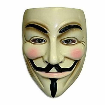 Halloween Martini Corner (V for Vendetta Mask Resin Anonymous Guy Fawkes Halloween)