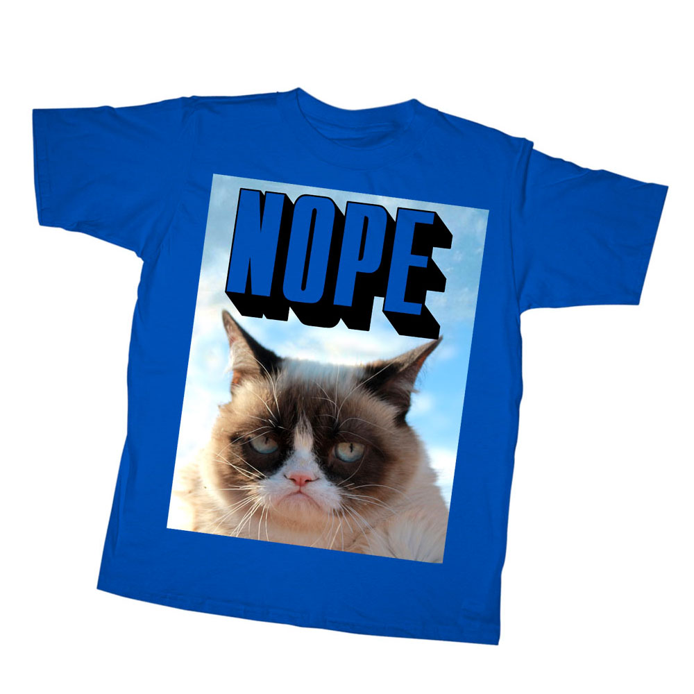 Grumpy Cat Boys' Just Nope T-Shirt