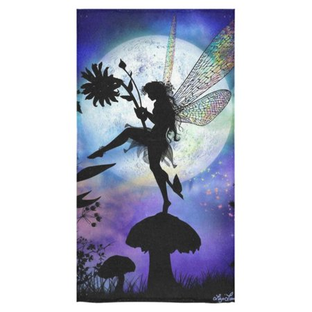 MKHERT Fairy Tale Elves Bath Towel Shower Towel Wash Cloth Face Towels 16x28 inches