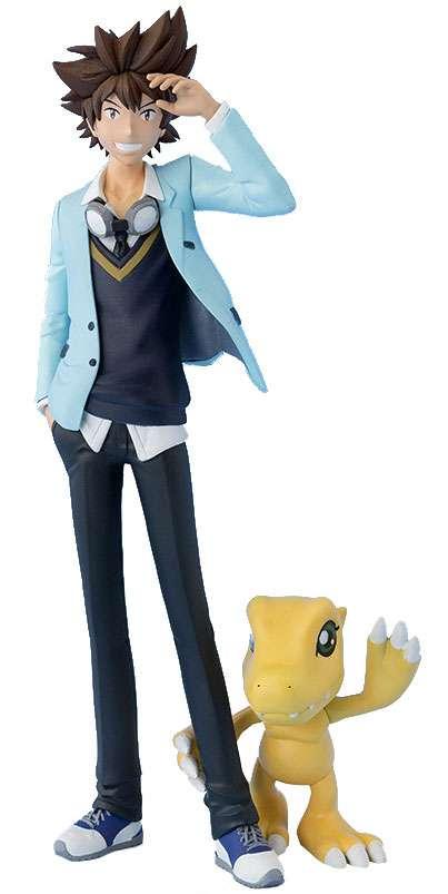 Digimon Figuarts Zero Taichi & Agumon PVC Statue by
