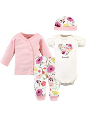 46f09cb21700 Product Image Organic Preemie Layette Set, 4 Pc Set (Baby Girls)