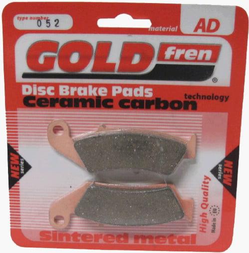 Sintered Full Set Goldfren Brake Pads For Honda VFR 400 R3L NC30 1990