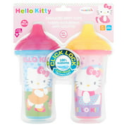 Munchkin Insulated Hard Spout Sippy Cup - Hello Kitty, 2 pack