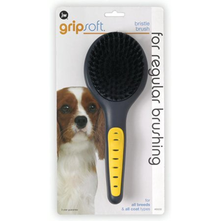 JW Pet GripSoft Bristle Dog Brush
