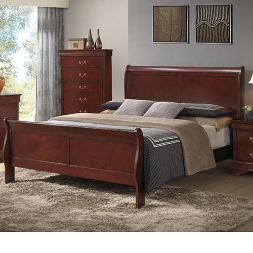 cambridge piedmont sleigh bed