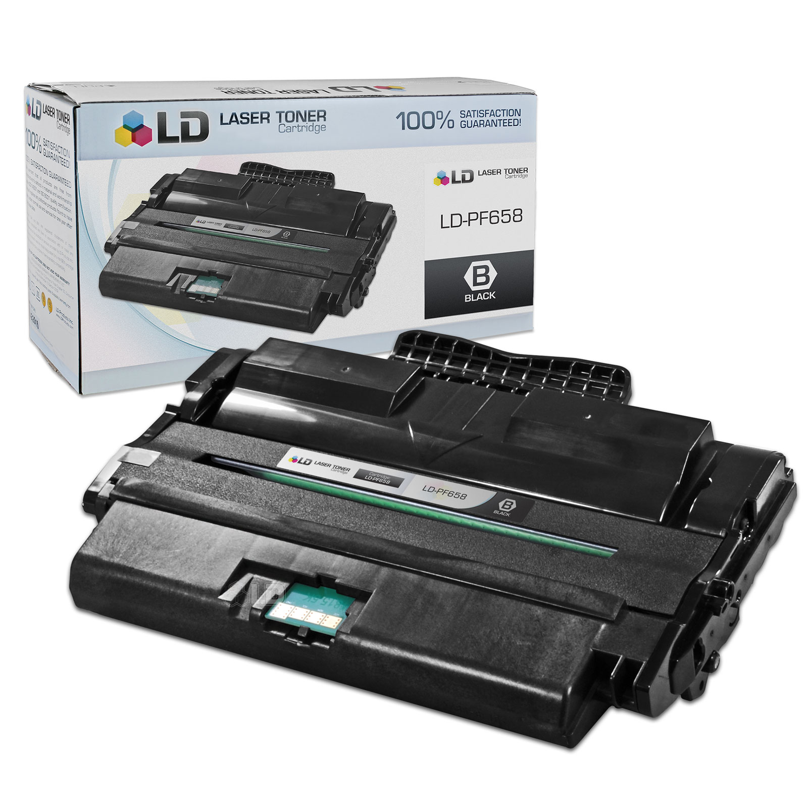 LD Compatible Replacement for Dell PF658 (310-7945) High Yield Black Laser Toner Cartridge for use in Dell