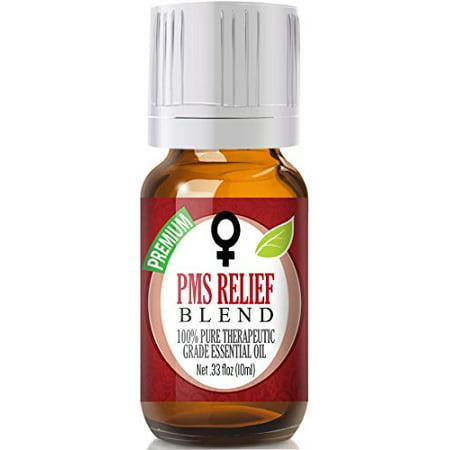PMS Relief Mélange d'huiles essentielles 100% pure, meilleure thérapeutique de qualité - 10ml - Comparable aux femmes Solace & Young Living Dragon Time doTERRA