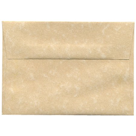 - JAM Paper 4bar A1 Invitation Envelopes, 3 5/8 x 5 1/8, Parchment Brown Recycled, 250/pack