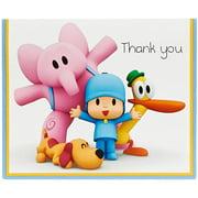 Pocoyo Thank-You Notes, 8pk
