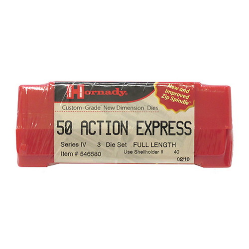 Hornady Series IV Specialty Die Set 50 Action Express 546580