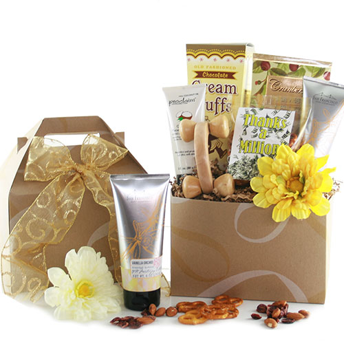 Simply Thanks Thank You Spa Gift