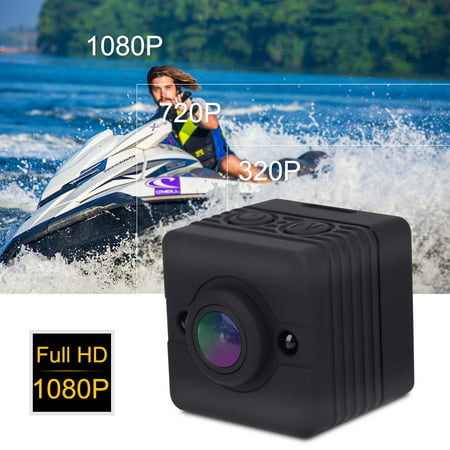 Cube Camera,1080P HD Portable Mini Infrared Waterproof Cube Action Camera Camcorder with Mounts, Sports