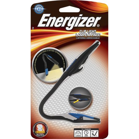 Energizer LED Book Light Personal Flashlight 2 Led Book Light