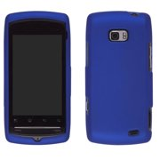 Wireless Solutions Soft Touch Snap-On Case for LG Apex US740, Axis AS740 (Blue)