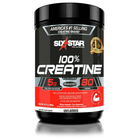 (2 pack) Six Star Pro Nutrition Elite Series Creatine Powder, 80