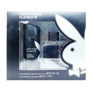 Playboy Hollywood Set: All Over Body Spray 4 Oz., Eau De Toilette 1.7 Fl Oz.