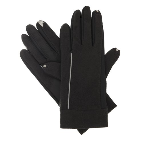 Smartouch Fleece Gloves, Black