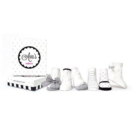 Baby Girls' Ava Socks 6-pack (0-12mo.)