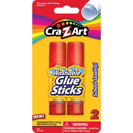 Cra Z Art 2 Ct Glue Sticks