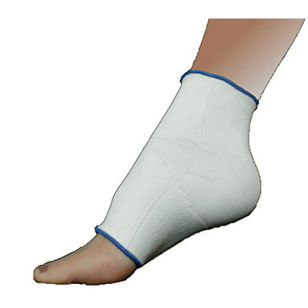 Elastic Compression Support Ankle, Foot Arch Brace With 4-Way Stretch (Small  Beige)