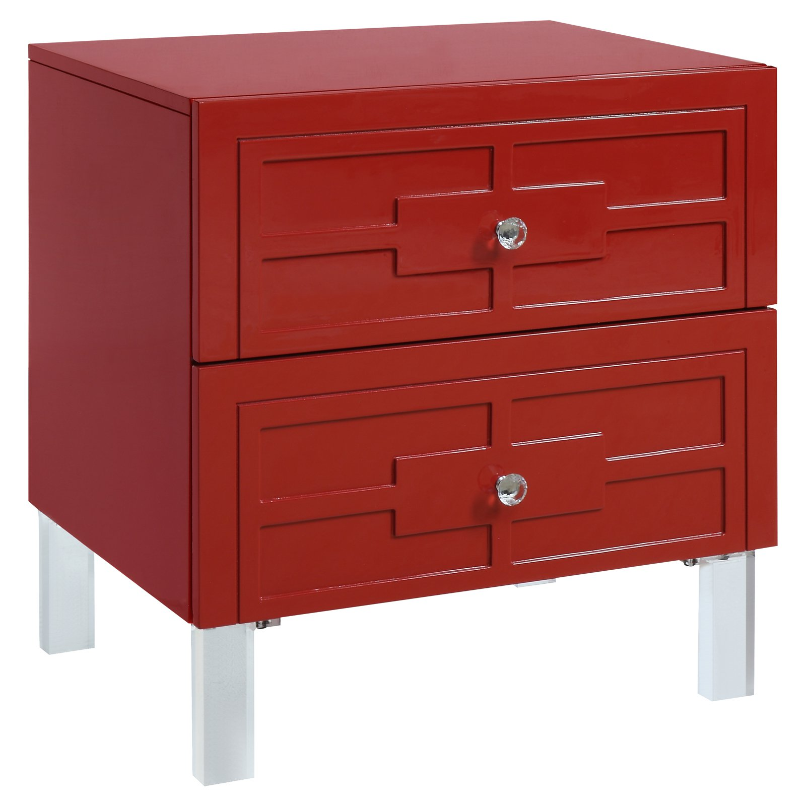 Furniture of America Ellis Contemporary Side Table