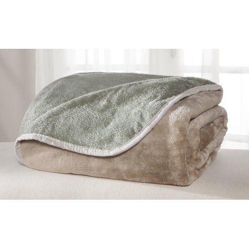 All Seasons Reversible Plush Blanket by Generic