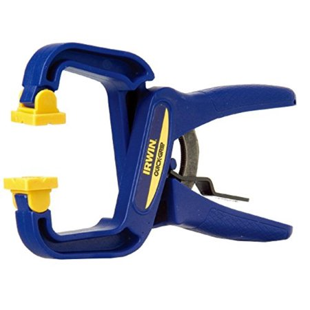 "QUICK-GRIP Handi-Clamp, 4"", 59400CD, QUICK-RELEASE trigger allows for fast and easy positioning and release By IRWIN"