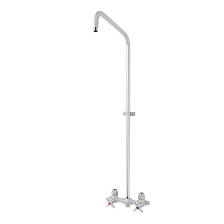 Speakman Commander Exposed Industrial Outdoor Shower, Polished (Best Exposed Thermostatic Shower)