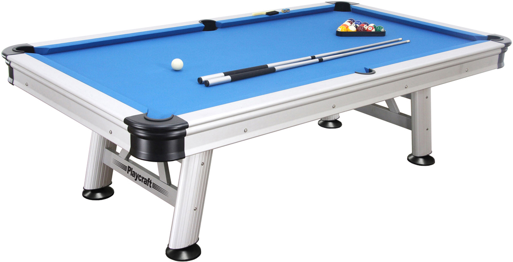Playcraft Extera Outdoor 8' Pool Table by Generic