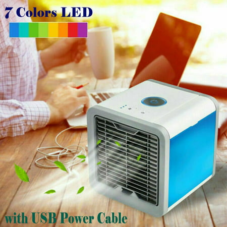 Portable Mini Air Conditioner Cooling USB Cooler Fan For Bedroom Artic Evaporative