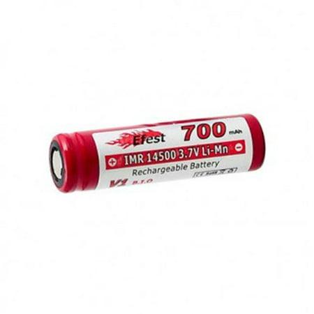 Efest EFEST-1089-FLAT 14500 700mAh 3.7V Unprotected Lithium Manganese Flat Top Battery - image 1 of 1