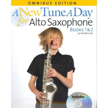 A New Tune A Day Alto Saxophone Omnibus Edition Books 1 & 2 by