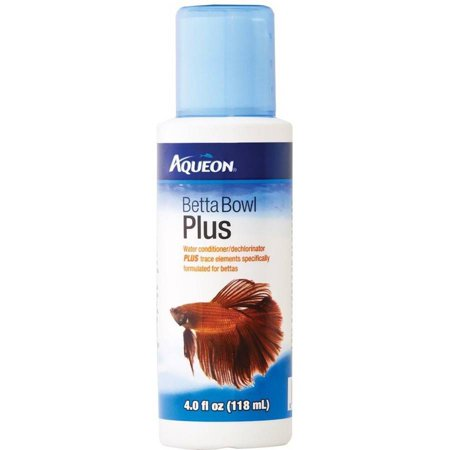 Aqueon Betta Bowl Plus Water Conditioner, 4 oz