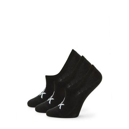 3-Pack Logo No-Show Liner Socks Calvin Klein Knit Socks