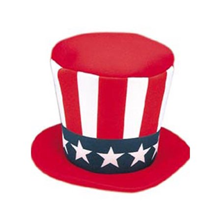 Adult Uncle Sam Mad Hatter Jacobson Hat 16565](The Mad Hatter Hat)
